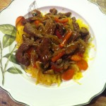Asian Stir Fry with Paleo Noodles