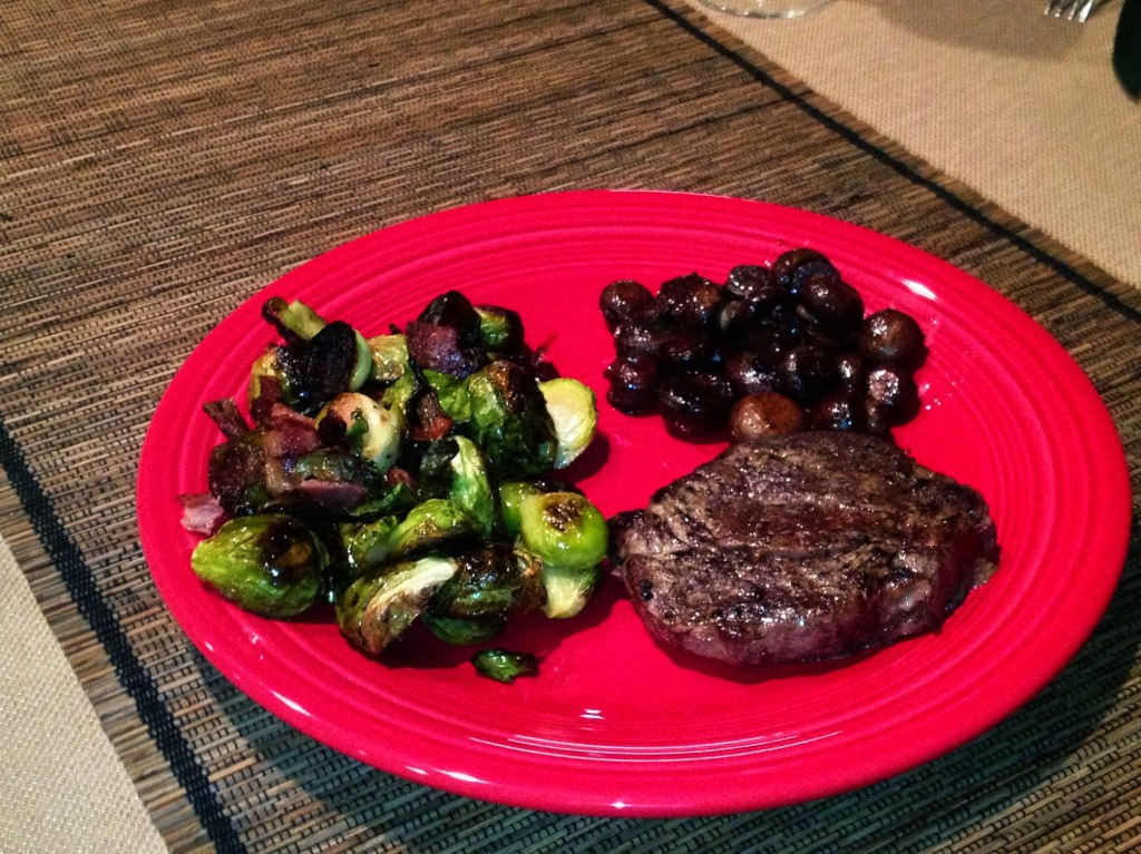 Bacon Roasted Brussels Sprouts | Paleo Recipes - Primal Primos